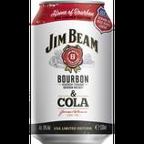 Jim Beam White & Cola 10%