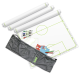 Taktifol Fußball-Taktikfolien-Spar-Paket