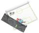 Taktifol Fußball-Taktikfolien-Profi-Set
