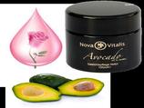 Avocado-Creme mit Rosenöl