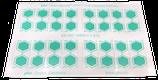 GKE Reinigungsindikatoren Pack mit 160 doppelseitigen Indikatoren