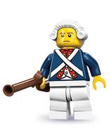 LEGO MINIFIGURA SERIE 10 | Nº 12 SOLDADO REVOLUCIONARIO