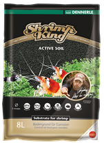 Shrimp King Active Soil  4oder8Liter
