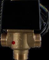 BUSO Solar-Motorkugelhahn 230 V gebohrt