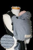 Storchenwiege BabyCarrier - Schwarz-Weiß