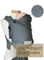 Storchenwiege BabyCarrier SLIM - Graphit
