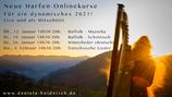 Paket: 4 Harfen Online-Workshops als Mitschnitt
