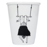 Cup Trapeze Girl