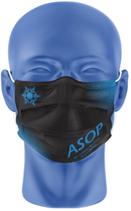Masque aux couleurs de l'ASOP