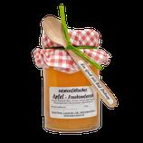 """""""Ostwestfälischer Apfel""""Fruchtaufstrich im 245g Glas mit Löffel"""