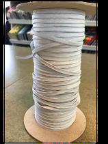 Gummilitze rohweiß 5mm breit