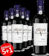 6-er Weinpaket Viile Metamorfosis Merlot 2015 | 5+1 Gratisaktion