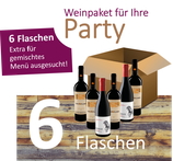 6er - Weinpaket für Ihre Party