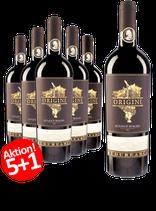 6-er Weinpaket Budureasca Origini Feteasca Neagra 2015  | 5 +1 GRATISAKTION