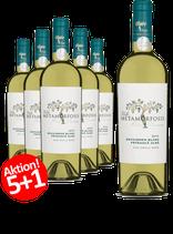 6-er Weinpaket | Viile Metamorfosis Feteasca Alba & Sauvignon Blanc 2017  | 5 +1 GRATISAKTION