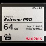SanDisk Extreme PRO® CFast™2.0 Speicherkarte 525MB/s