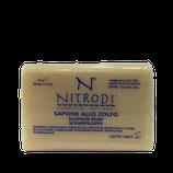 Sapone allo zolfo Nitrodi cosmetici naturali