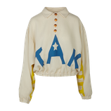 'TAK' wool jumper