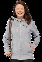 Damen-Sweatjacke Fyn mit Logo