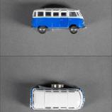 VW Bus blau