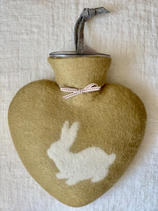 Herzwärmeflasche Hase taiga