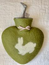 Herzwärmeflasche Hase cactus