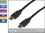 HDMI/A Kab.ST-ST 1-5 Meter Ethernet