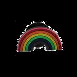 Regenbogenanstecker für Knopfloch