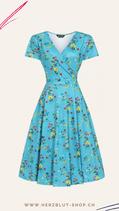 Lyra Swing Dress Alpine Flowers