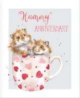 Kaart - Hammy Anniversary