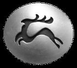"""Knopf """"Artemis"""" oval Silber 925/ooo"""