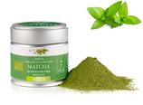 MATCHA MENTHE BIO - Poudre Matcha, arôme naturel/Matcha-Pulver, natürliches Aroma