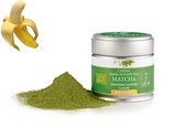 MATCHA BANANE BIO - Poudre Matcha, arôme naturel/Matcha-Pulver, natürliches Aroma
