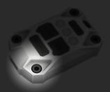 JK-IF3SB 【JEEP wrangler JK Injection Fob スクリューボルトセット】(4本)パニックボタンスペーサー付き