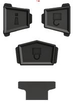 FJ-IFOP1BT 【FJ Cruiser キーケース Injection Fob用】オプションボタンセット