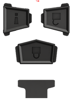 FJ-IFOP1BT FJ Cruiser Injection Fob用 オプションボタンセット