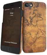 iPaint IPH7/8 Cover Slim Rigida Map