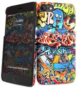 iPaint IPH7/8 Cover Slim Rigida Graffiti
