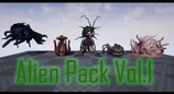 Alien Pack Vol.1 Unreal Engine