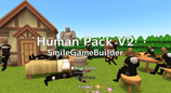 Human Pack for Smile Game Builder