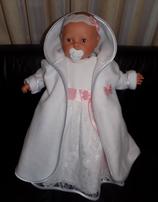 Neu Taufmantel Mädchen o. Junge Baby taufmantel zur Taufe o. Hochzeit  Artikelnummer 0025467245-3300