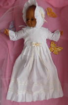 Neu Taufkleid Familientaufkleid Traditionell Mädchen Junge Größe 56-62.68.74.80.86.92  Artikelnummer 0025467245-62
