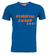 """T-shirt """"j'peux pas"""""""