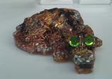 Bébé Dragon-yeux verts