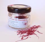 Flacon gourmet - Safran en filaments - 0,5 g