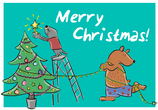 Ansichtkaart | Kerstmis