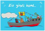 Ansichtkaart | Sinterklaas