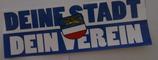 150 Rostock Deine Stadt Dein Verein Aufkleber