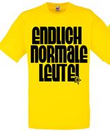 Normale Leute Shirt Gelb