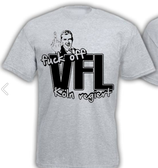 Fuck off VFL Shirt Grau